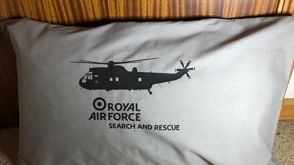Sea King Search and Rescue Pillow Case