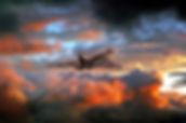 Vulcan Bomber Sunset