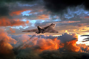 Vulcan Bomber Sunset