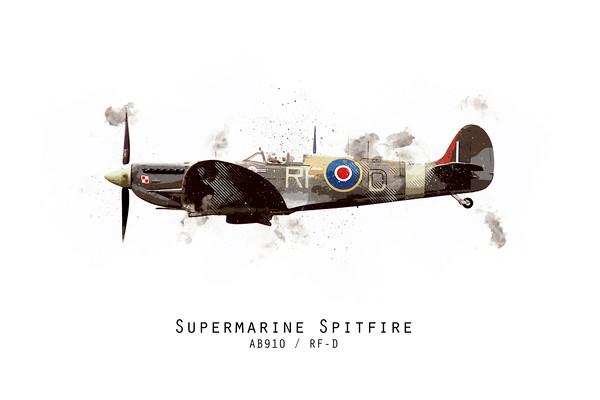 RAF100 - Spitfire AB910