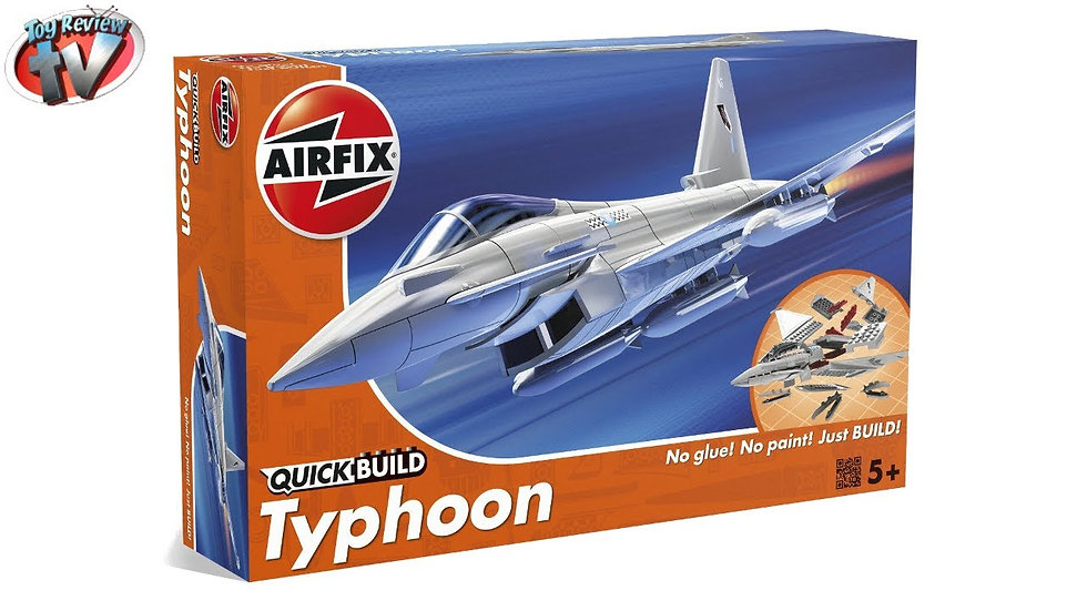 Airfix Quickbuild Typhoon Plastic Model Kit