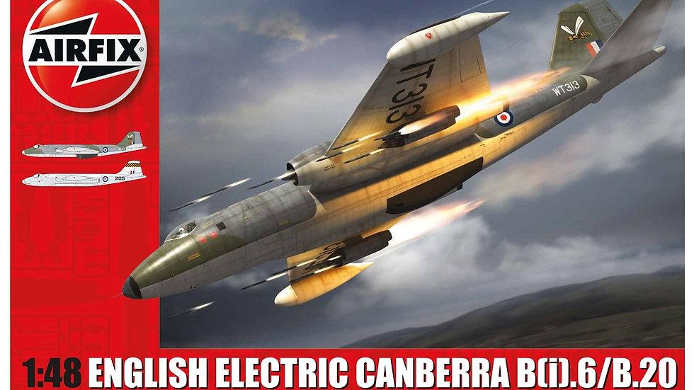 AIRFIX 1/48 ENGLISH ELECTRIC CANBERRA B.2/B.20 MODEL KIT
