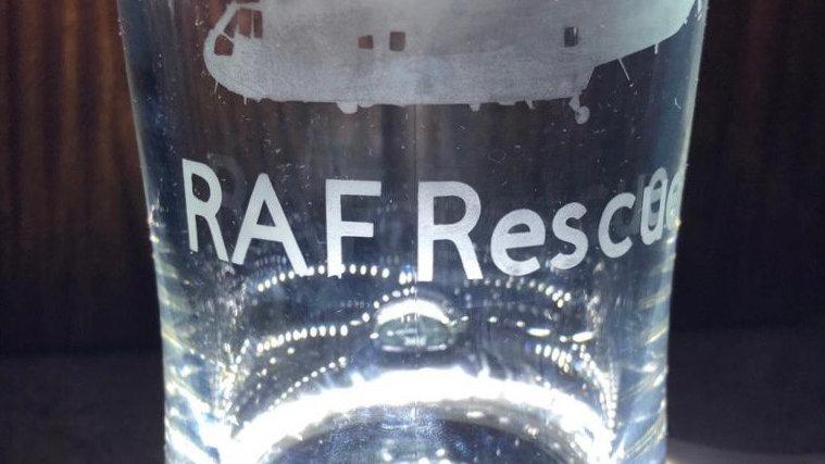 RAF Sea King Etched Tankard