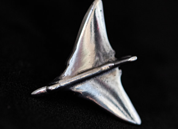 Lapel Pin - Vulcan Bomber