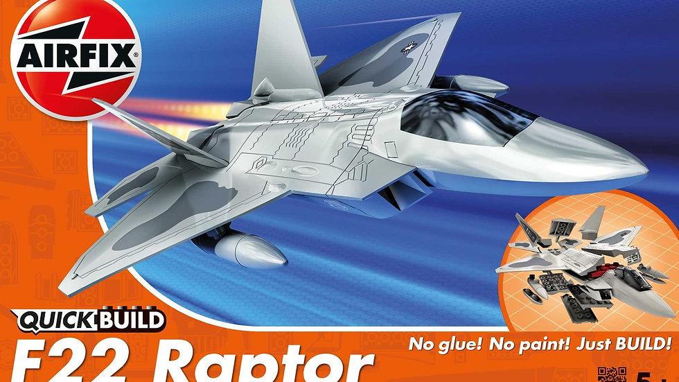 Airfix Quickbuild F-22 Raptor Plastic Model Kit