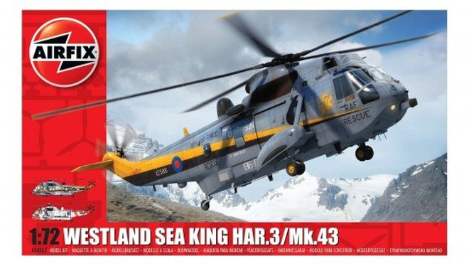 AIRFIX 1/72 WESTLAND SEA KING HAR.3 MODEL KIT