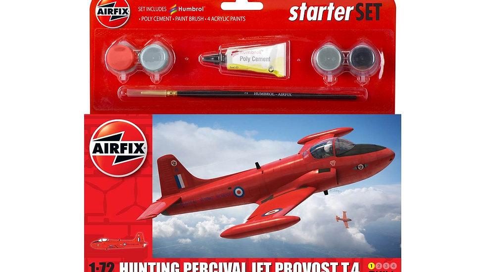 Starter Set - Hunting Percival Jet Provost T.4  1:72