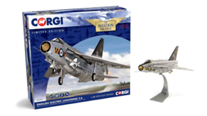 Corgi Electric Lightning F6 XS927/N RAF 74 Squadron