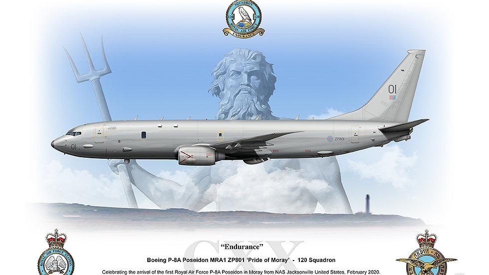 120 Squadron - P8 Poseidon Print