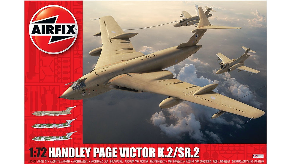 AIRFIX 1/72 HANDLEY PAGE VICTOR K.2 MODEL KIT