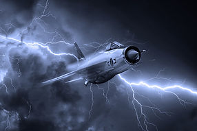 English Electric Lightning art