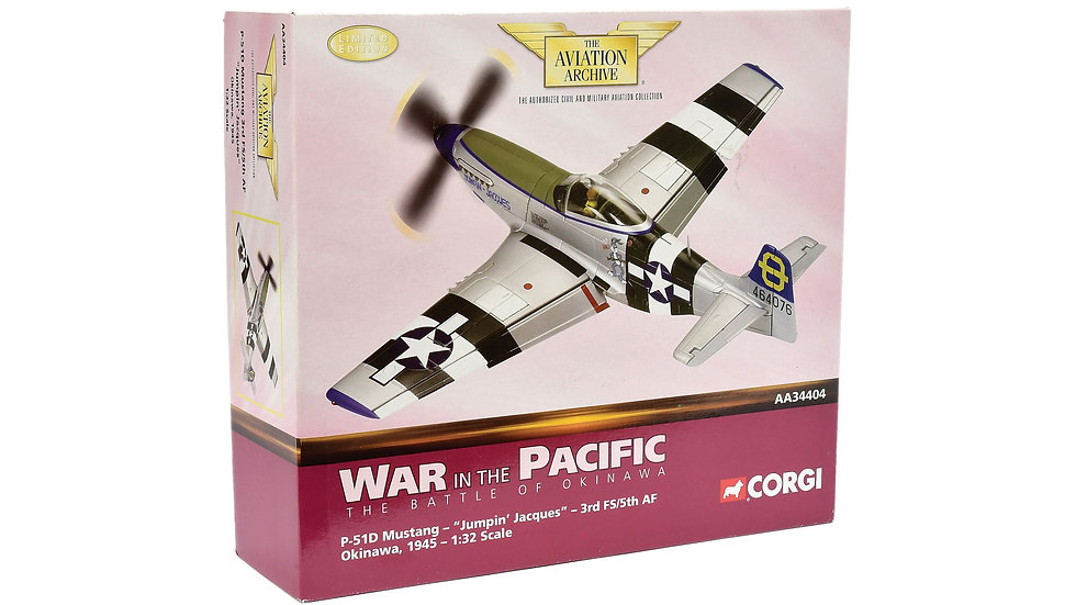 Corgi P-51D Mustang 'War In The Pacific'