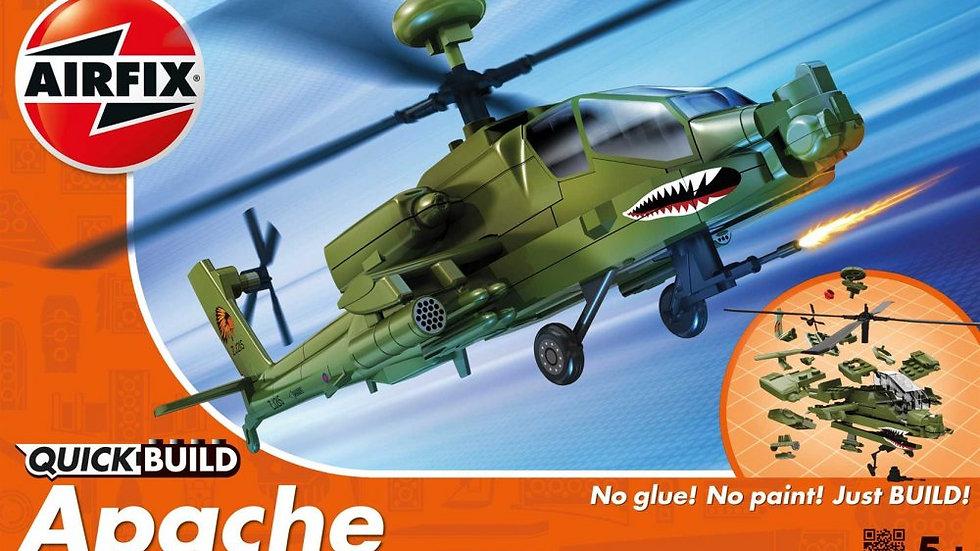 Airfix Quickbuild Apache Plastic Model Kit