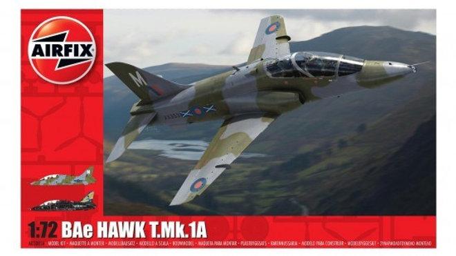 AIRFIX 1/72 BAE HAWK T1 MODEL KIT