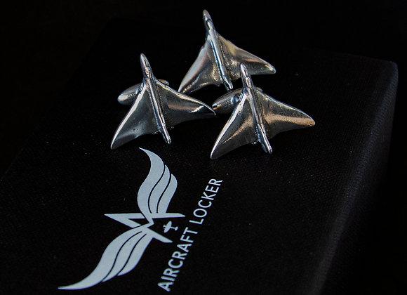 Cufflink & Lapel Pin Gift Set - Vulcan Bomber