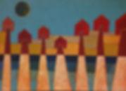 Insediamento-disegno-a-tempera-di-maurizio-sibilla-artista-e-architetto.jpg