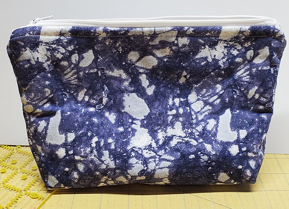 Navy Crackle - Envelope Stype