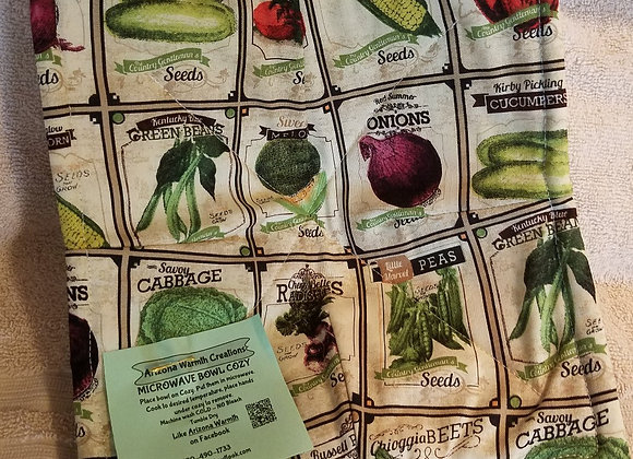 Veggie Seed Packets
