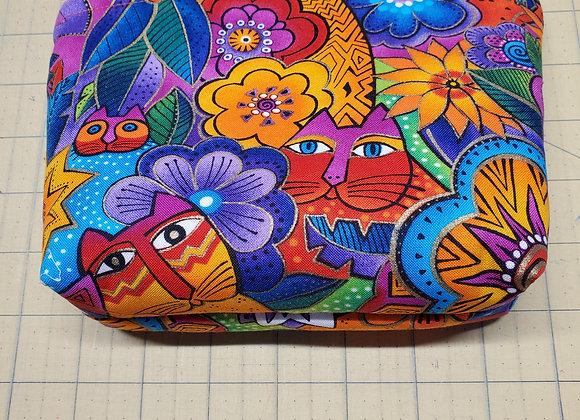Crazy Cat Bag - Orange Inside