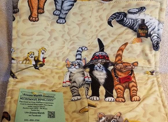 Cats on a Beach