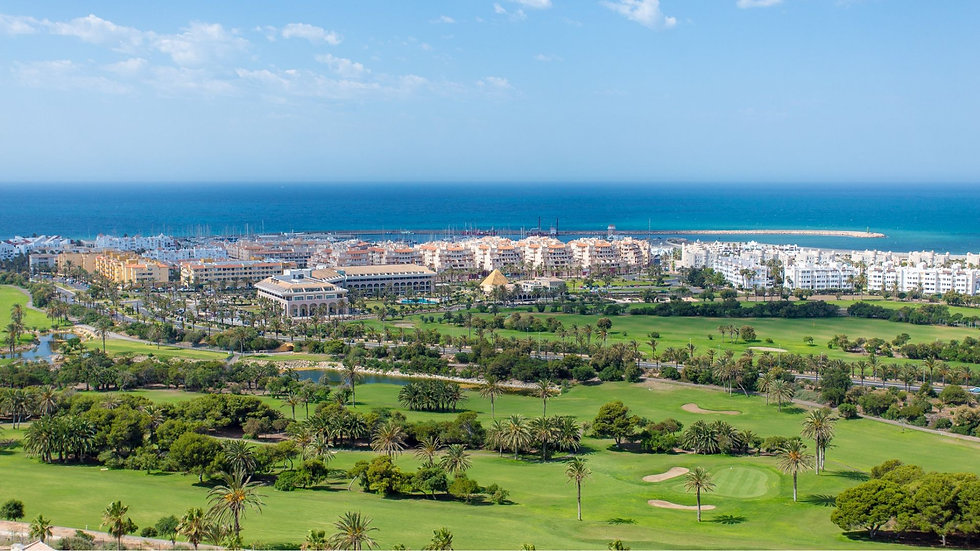 5* Hotel Golf Almerimar  April/May/June 2019
