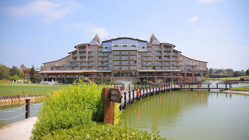 Sueno Golf Hotel  3rd  > 23rd September 2021