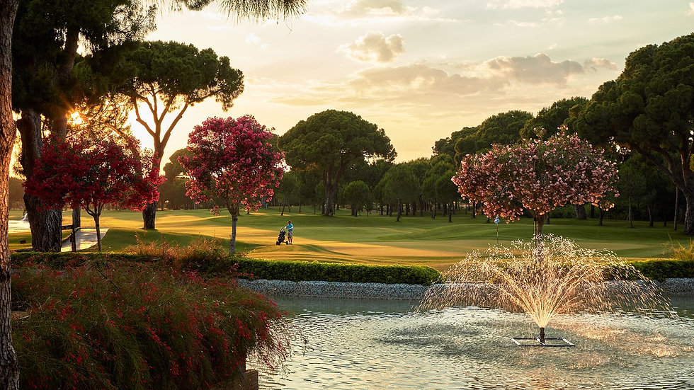 Gloria Golf Resort 1st > 31st March 2021