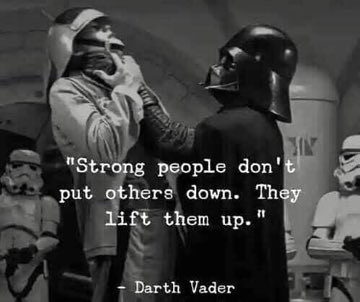 Can Darth Vader be a good mentor?