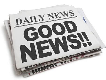 So many good news!!