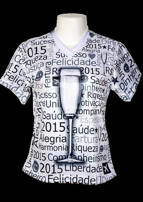 Camisa Básica em Malha Cirrê