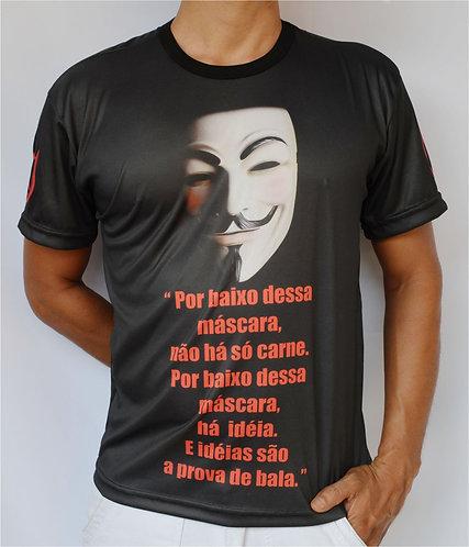 "Camiseta ""V"" de Vingança - VENDETTA"