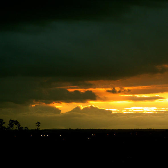 Sunset Over Watford