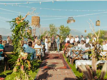 ASHLYNN + OWEN'S INTIMATE BACKYARD WEDDING