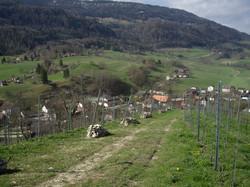 belle vue sur le village