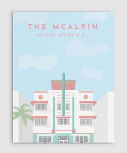 The McAlpin Hotel Poster