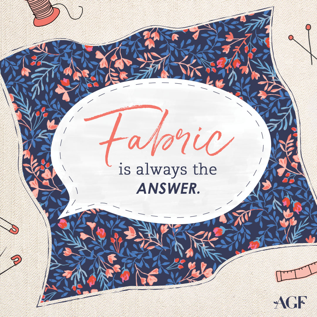 Fabric-is-always-the-answer-quote