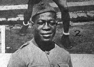 Leo Patterson - A.E.F. Boxing Lightweight Champion