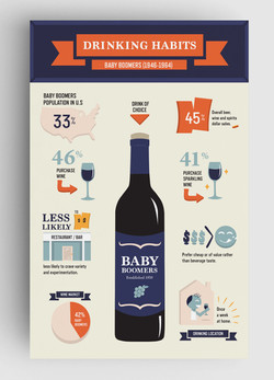 Baby Boomers infographics