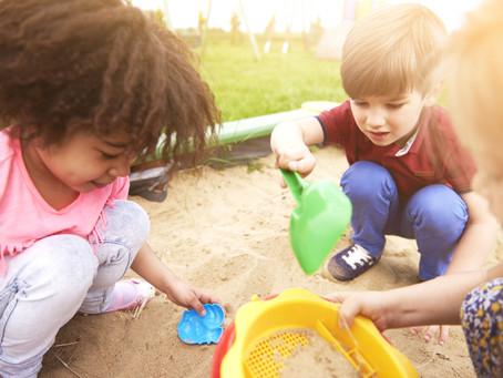 Child + Sand + Play = Calm Kids