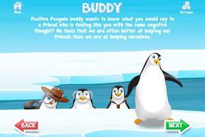 Positive Penguins App - Buddy