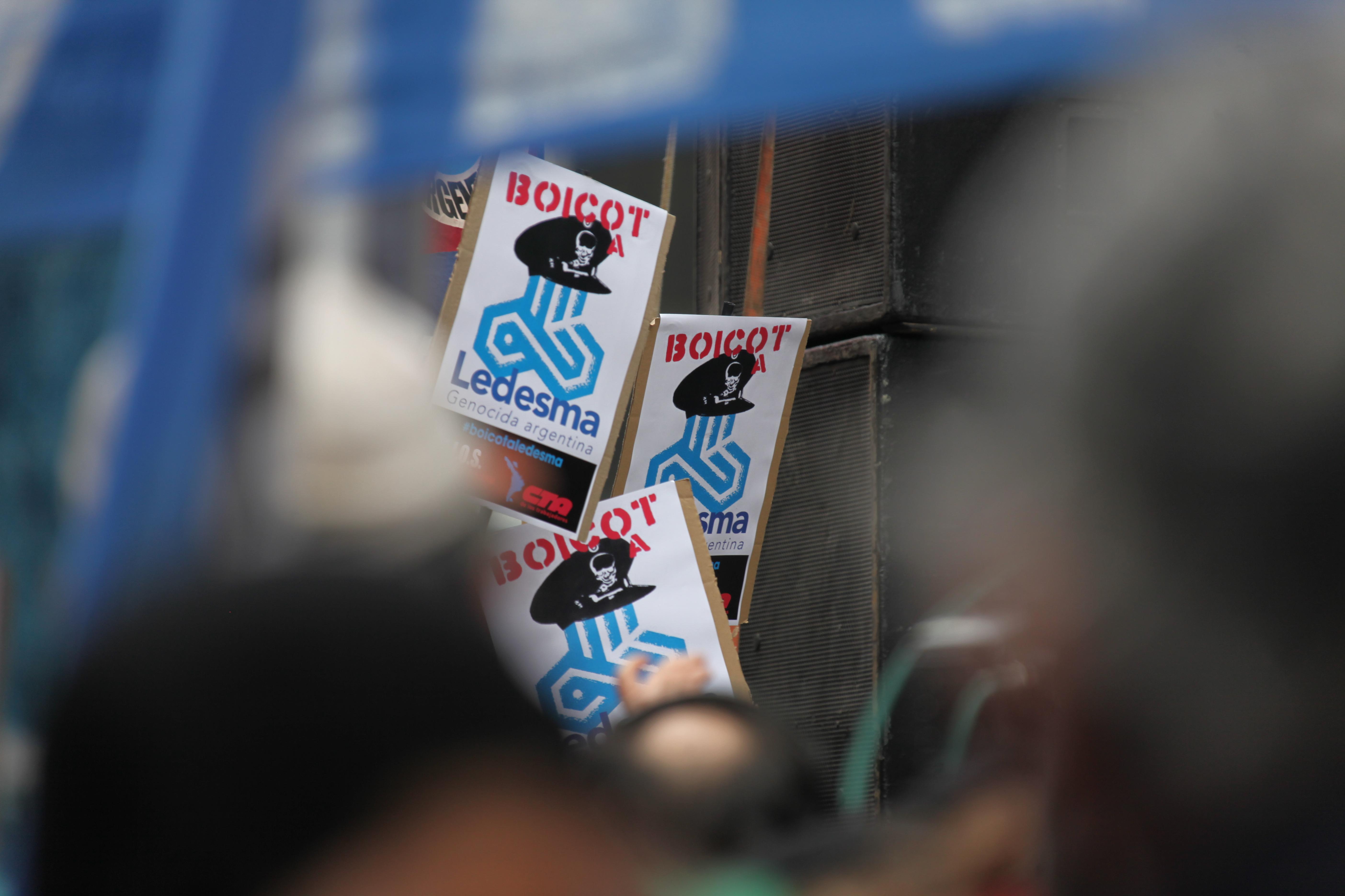 Boicot a Ledesma