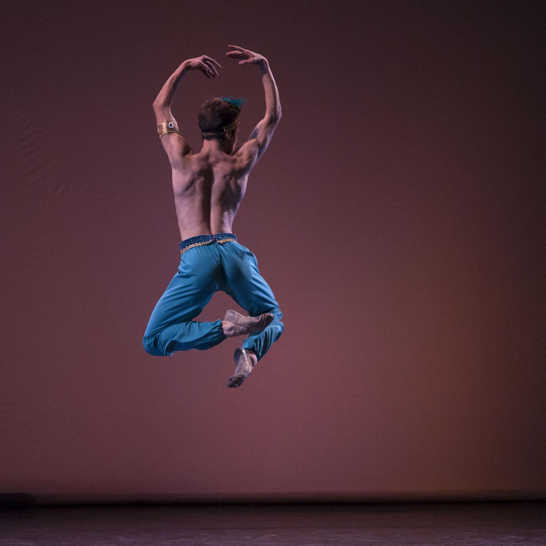 Nicolai en la gala de Ballet