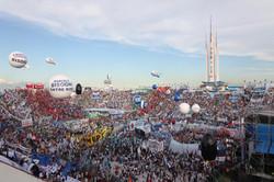 Acto de Cristina Kirchner en Huracán