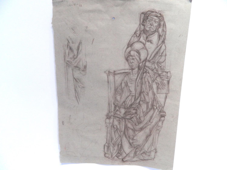 Tilman Riemenschneider Mary Salome and Zebedee