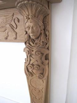 Fireplace in Oak