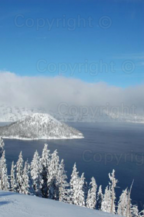Winter Comes To Crater Lake
