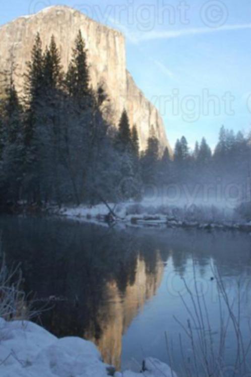 Reflections at Yosemite