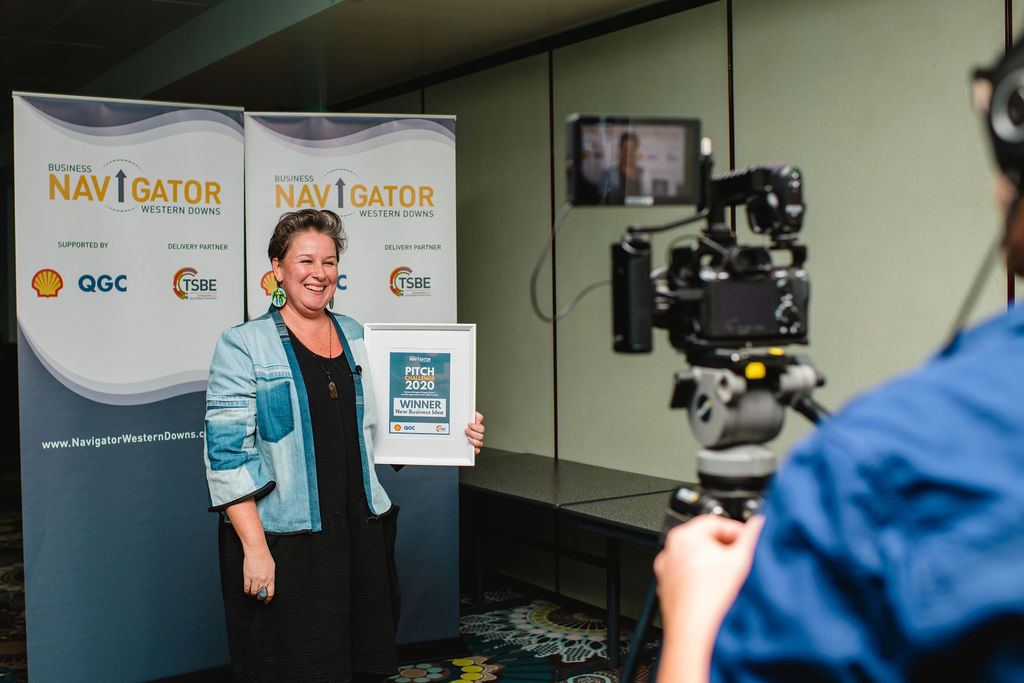 MeganTwidle, winner Best New Business Idea
