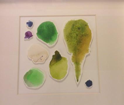 Vatnslitur á pappír / watercolor on paper