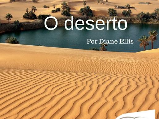 O deserto. por Diane Hofer Ellis